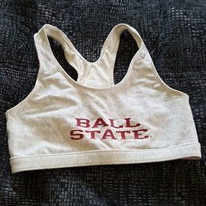 BALL STATE CARDINALS sports bra